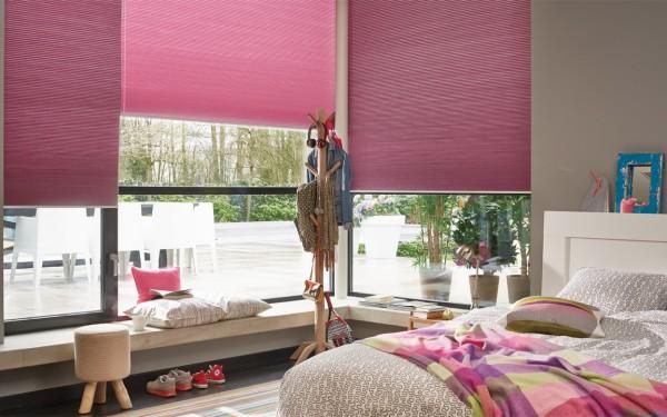 Duette shades Venetian Blinds rolluiken & zonwering in Kerkrade roze