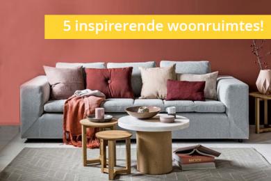 Vijf inspirerende woonruimtes